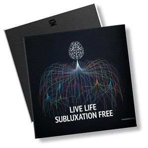Live Life Subluxation Free With Chiropractic - MyChiroPractice | Chiropractic Posters
