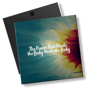 The Power That Made The Body Heals The Body - MyChiroPractice | Chiropractic Posters