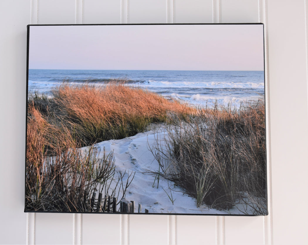 dune walk canvas photo
