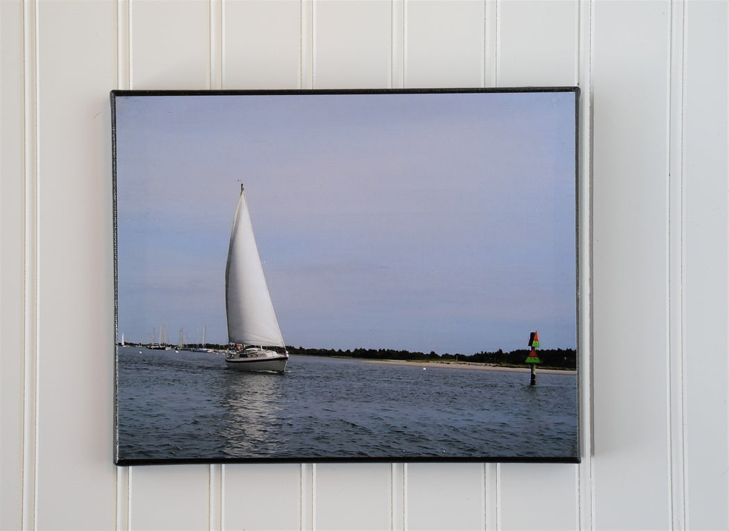 Sailboat Canvas Photo | Gift for Sailor