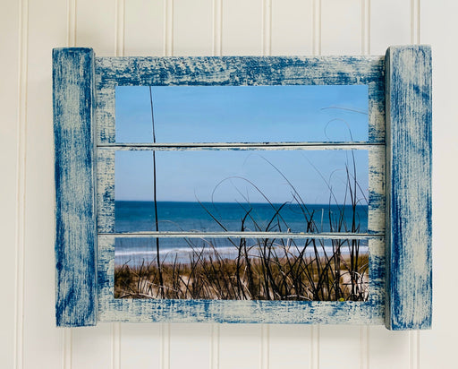 Emerald Isle Beach Photo on Wood | Beach House Decor