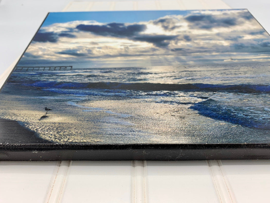 Sunrise in Atlantic Beach, NC Canvas Photo | Beach Lover's Gift