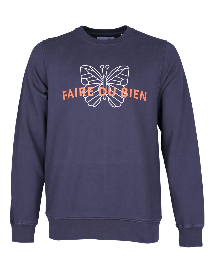 Brimstone Sweat - Dark Grey - FAIRE DU BIEN