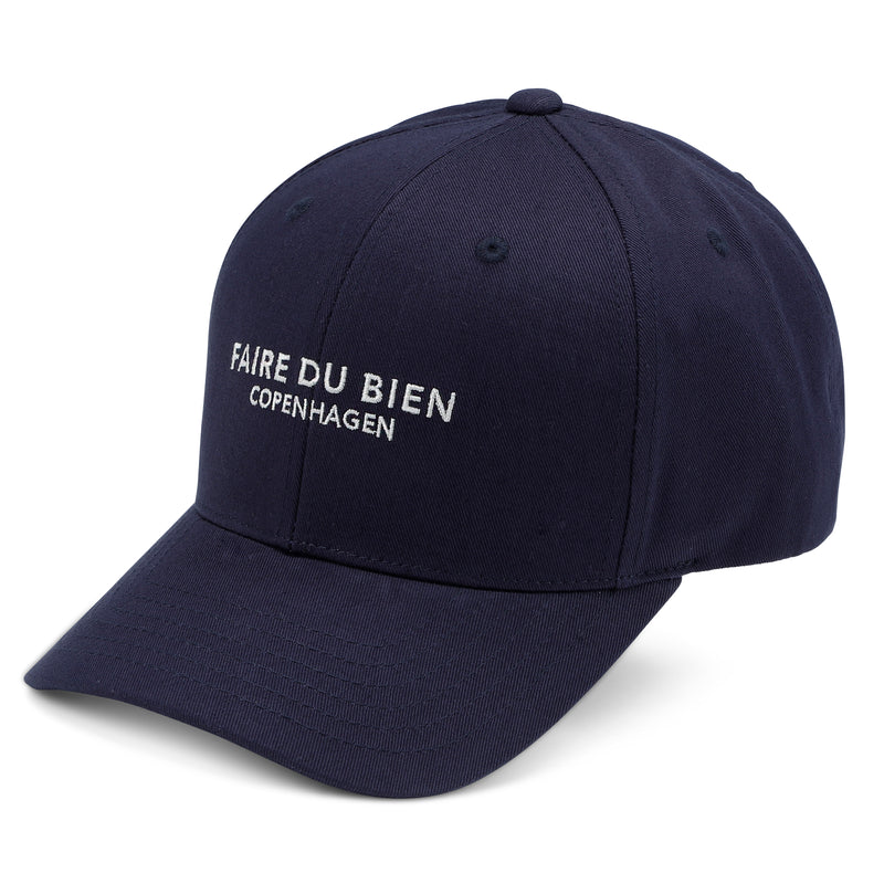 Virgil Baseball Cap - Navy - FAIRE DU BIEN