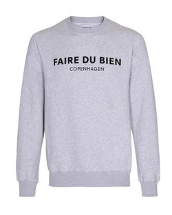 Faire Copenhagen Sweat - Grey - FAIRE DU BIEN