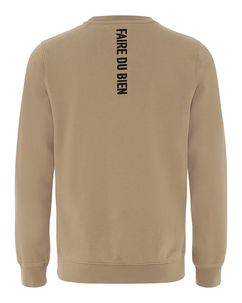 Paul Sweatshirt - Khaki - FAIRE DU BIEN