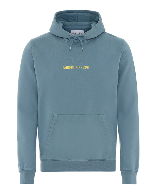 Vincent Hoodie - Light Blue - FAIRE DU BIEN