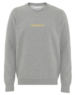 Vincent Sweatshirt - Grey Melange - FAIRE DU BIEN