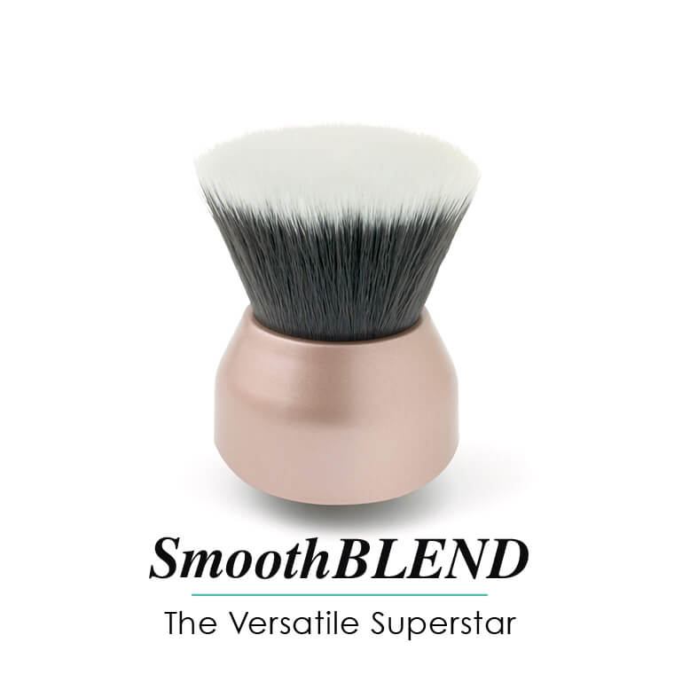 Smooth Blend head for versatile finish