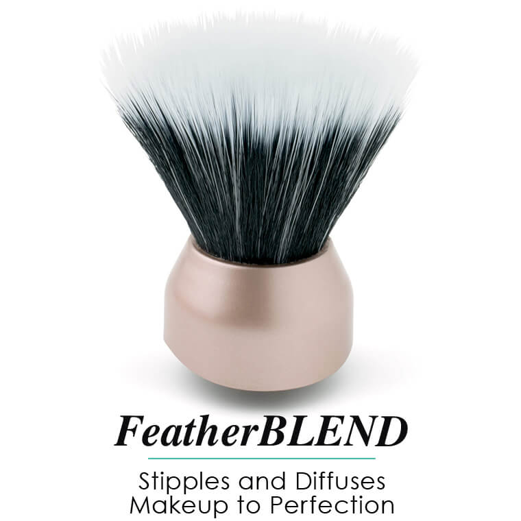 Feather Blend head for stipples and diffuses