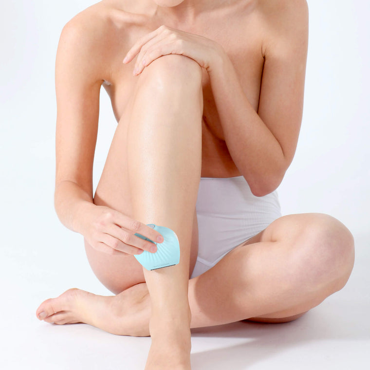 Leg Shaving with Magnitone Lady Shaver
