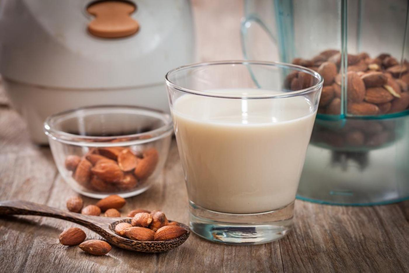 almond milk healthy eating nutrition healthy skin