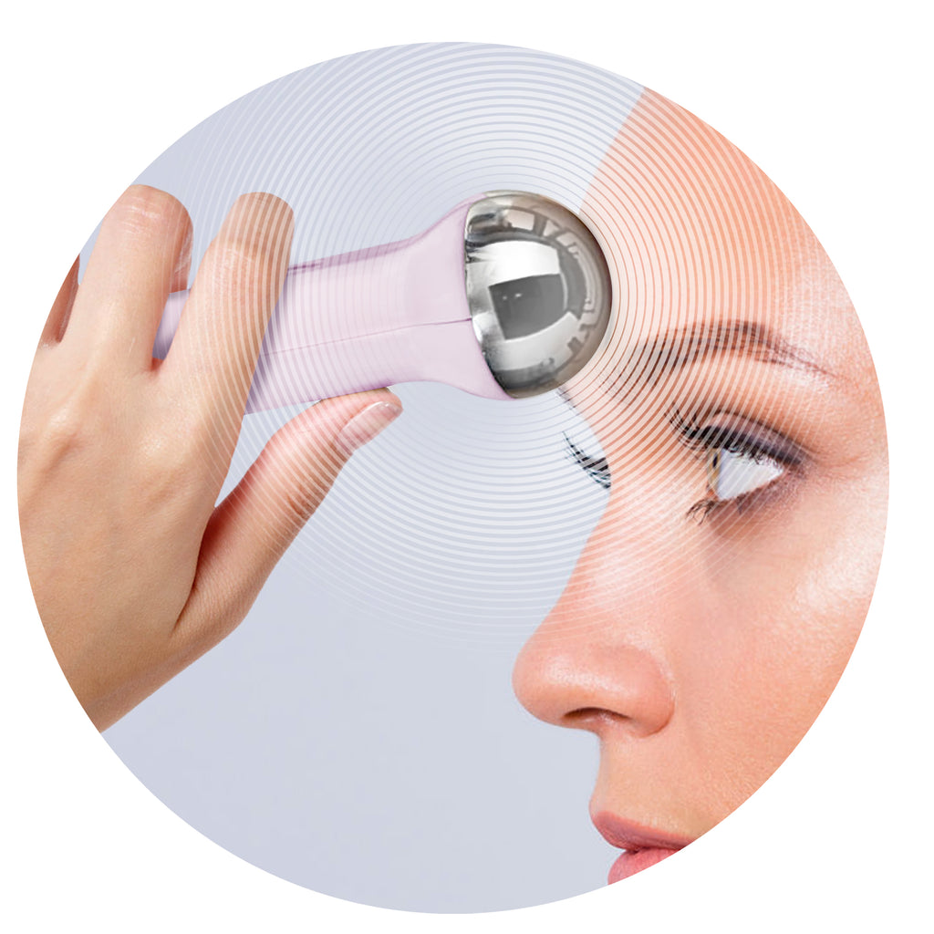 pulsed microcurrent technology for lifting and toning on sensitive skin