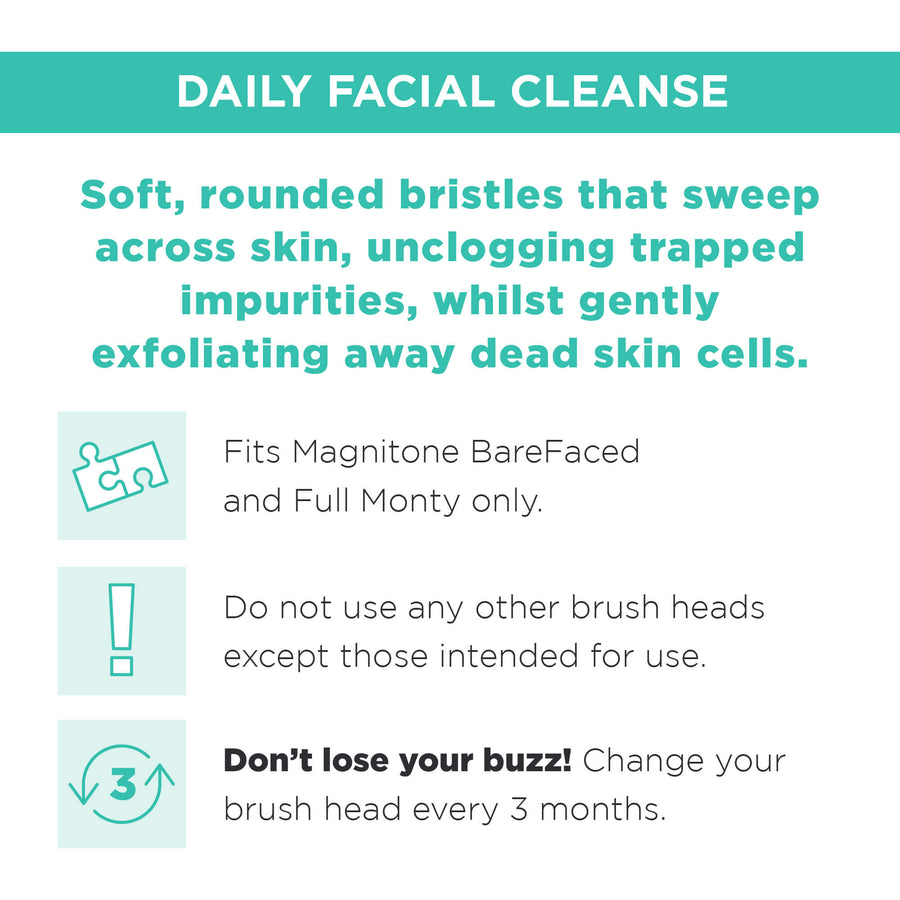 Replacement Brush Head - Daily Cleanse - Normal