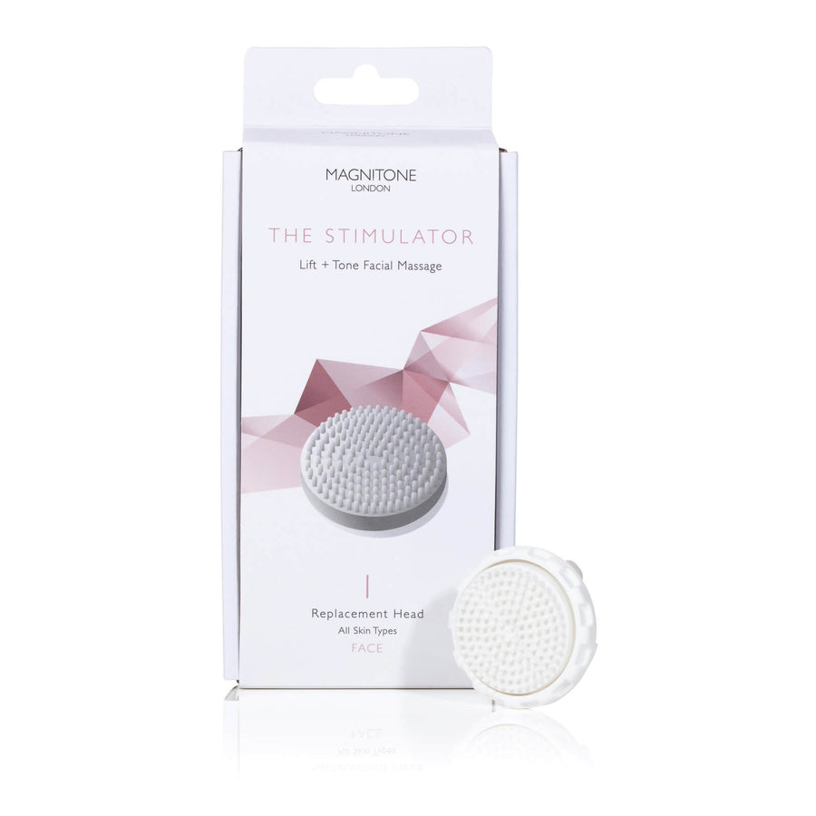 Magnitone The Stimulator replacement brush head toning skin
