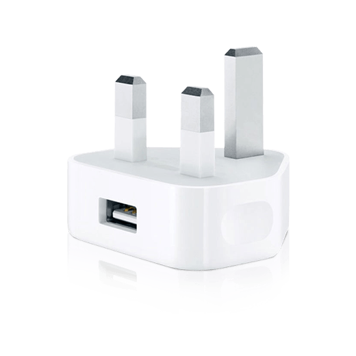 USB 3 pin UK Adapter