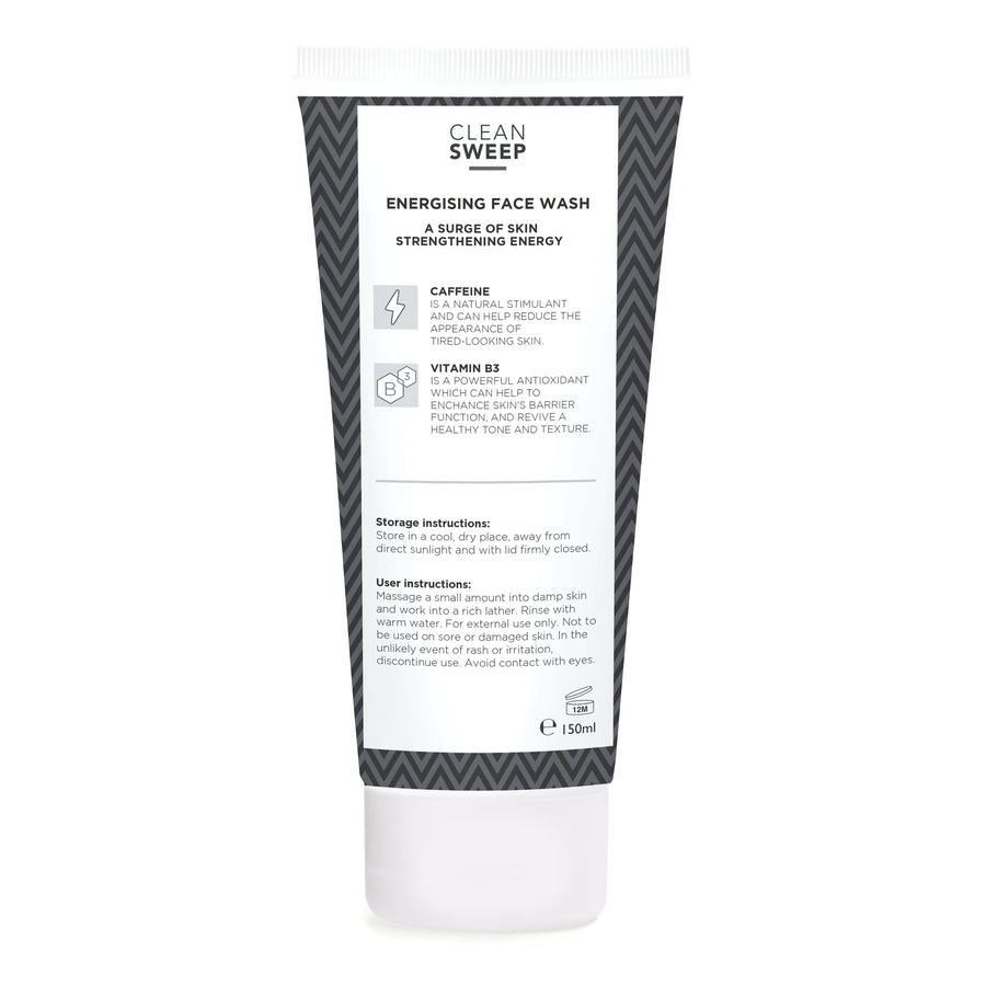 Clean Sweep - Energising Face Wash (150ml)