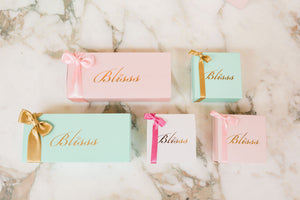 Blisss Barfi luxury packaging and made to order delicious sweets