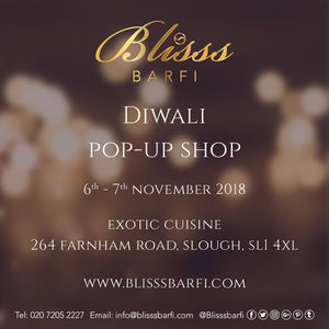 Diwali popup store 6th-7th November 2018