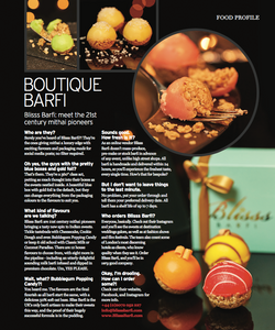 Blisss Barfi featured in latest autumn addition of Khush Magazine
