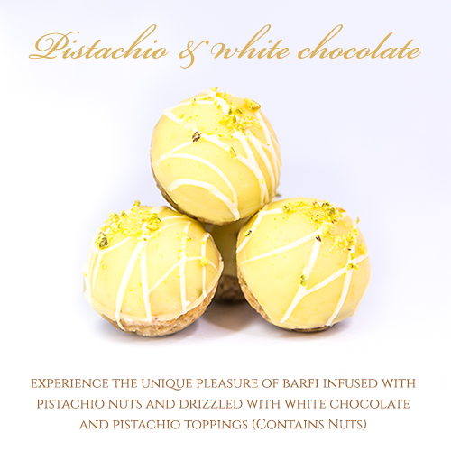 Pistachio and White Chocolate