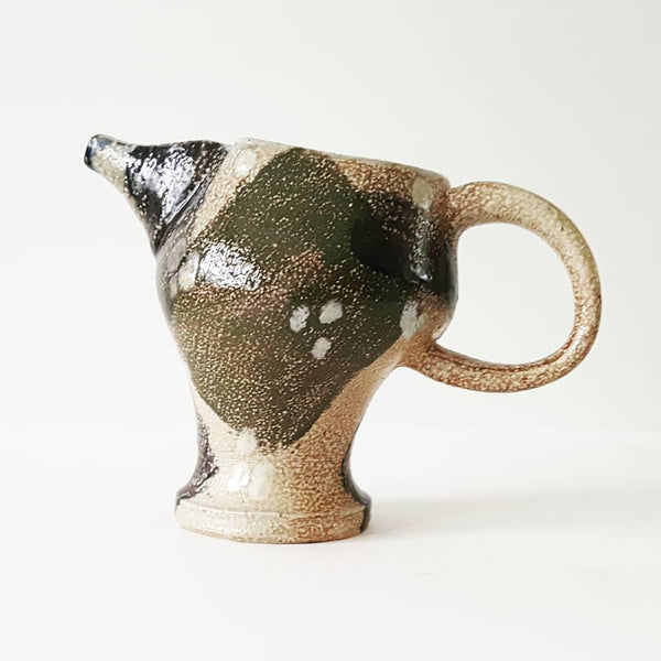 Whimsical Ceramic Pottery Pitcher