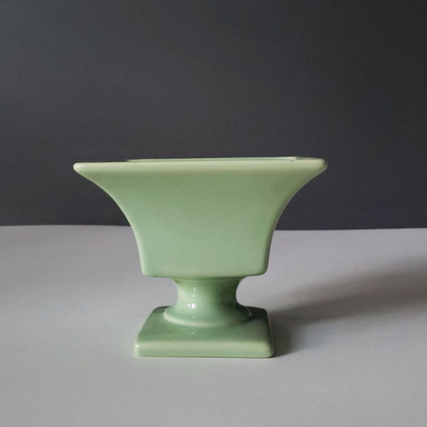 Haeger Pottery Green Classical Urn Form Plant Pot Vase