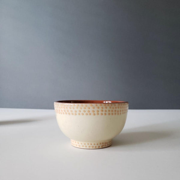Small Decorative Soup Pudding Cafe Au Lait Bowl