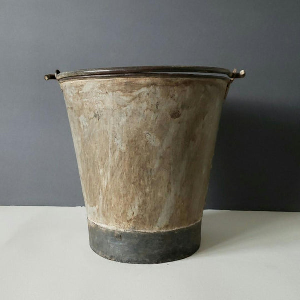 Metal Dairy Buckets With Gorgeous Patina