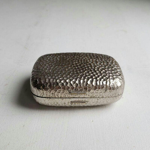 Hammered Silver Trinket Box