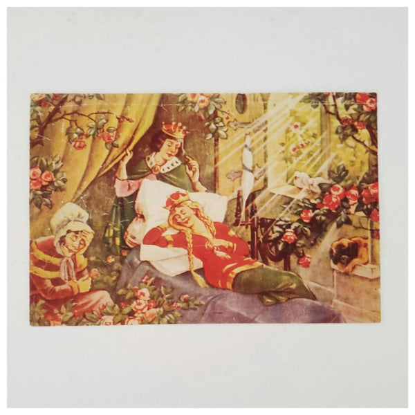 Antique Fairytale Puzzle Block Set