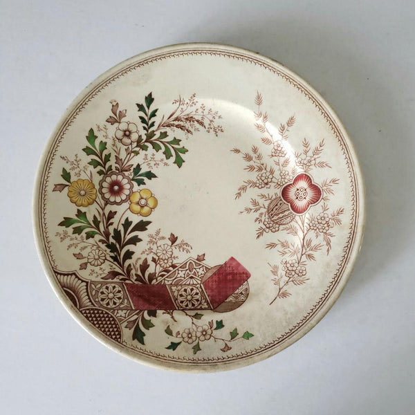 Hampden Pattern Transferware Plate Christopher Dresser