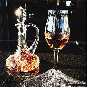 Fine Crystal Carafe & Snifter - The Crystal Wonderland
