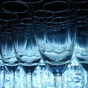 Crystal Champagne Glasses - The Crystal Wonderland