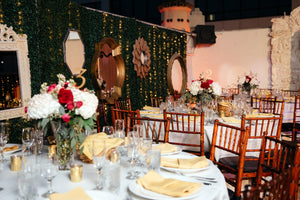 Wedding Table Arrangements - The Crystal Wonderland