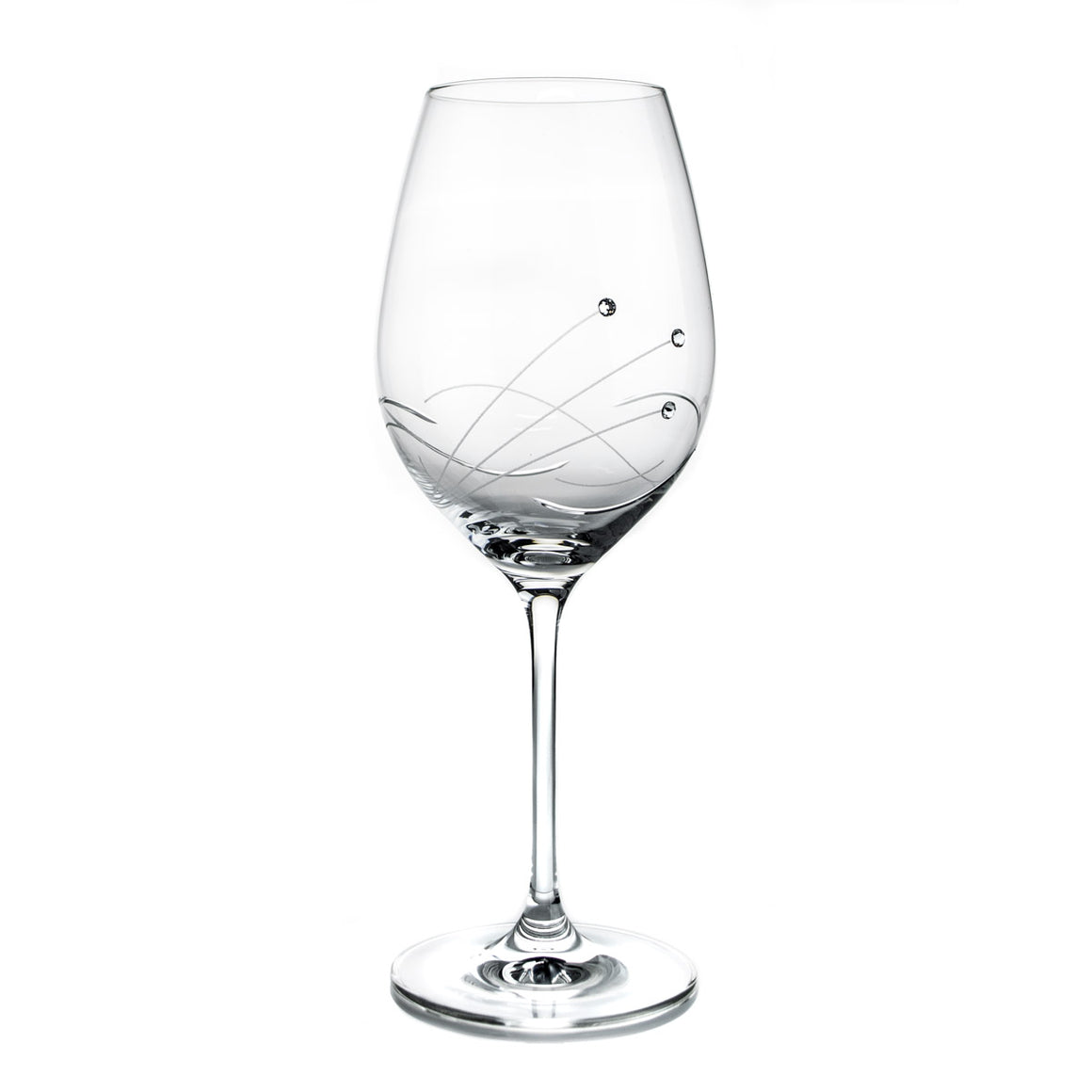 Kate Swarovski Crystals Wine Glasses, Pair - The Crystal Wonderland