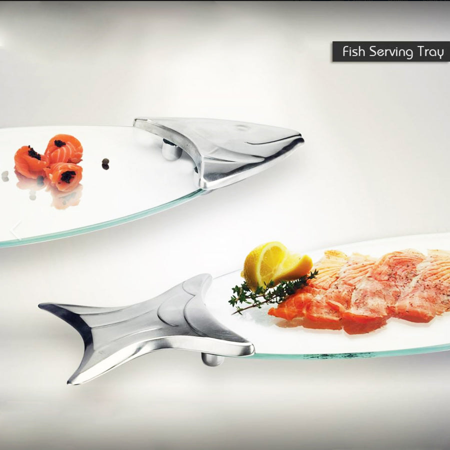 Salmon Serving Tray - The Crystal Wonderland