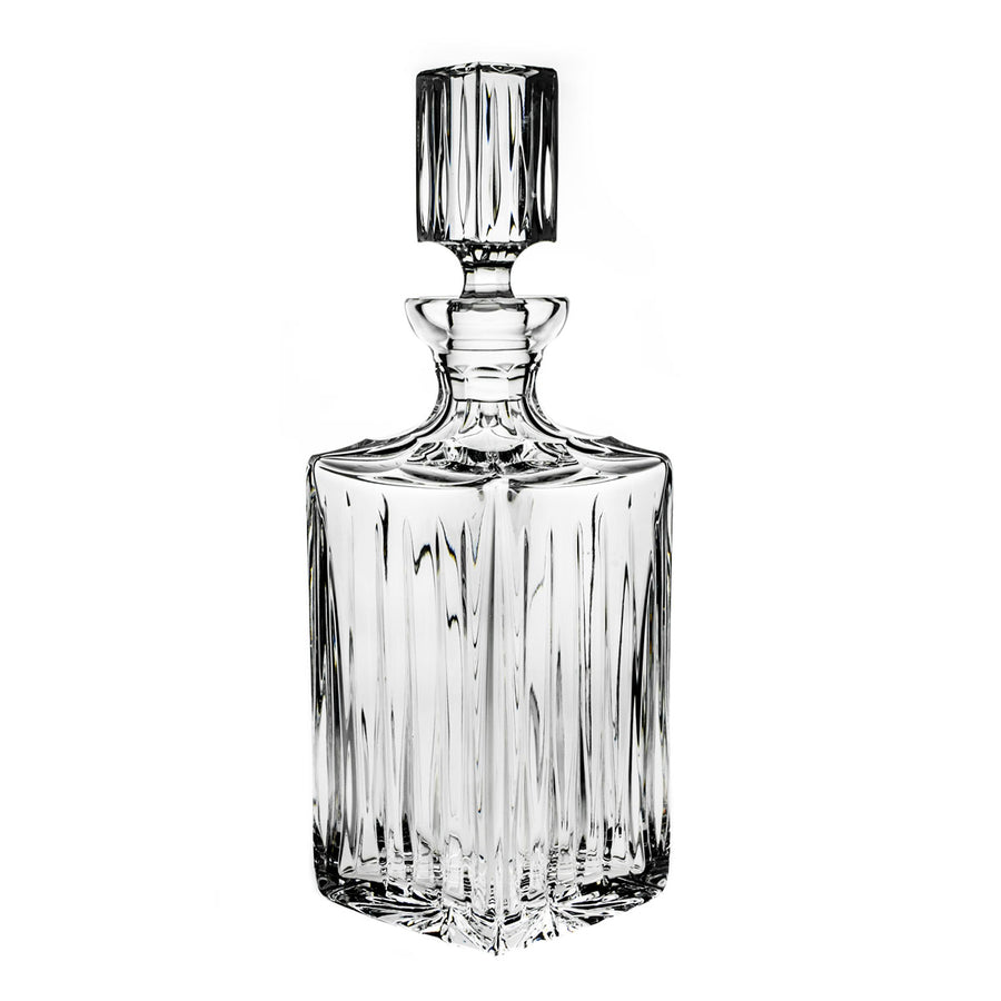 Line Crystal Decanter, 25.36 oz - The Crystal Wonderland - 2