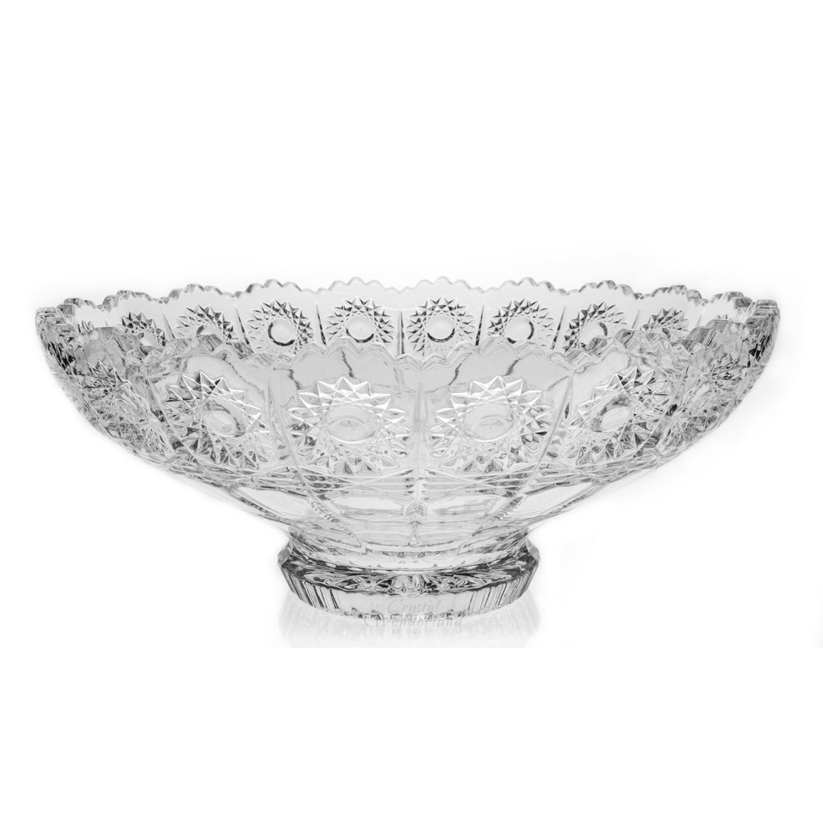 Crystal Bowl Footed