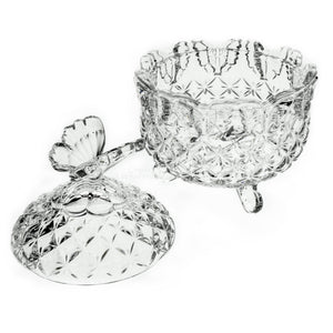 Crystal Butterfly Bowl by The Crystal Wondeland