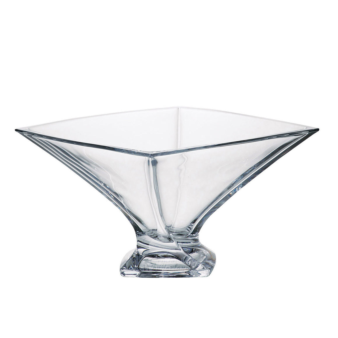 Calypso Square Glass Bowl - The Crystal Wonderland