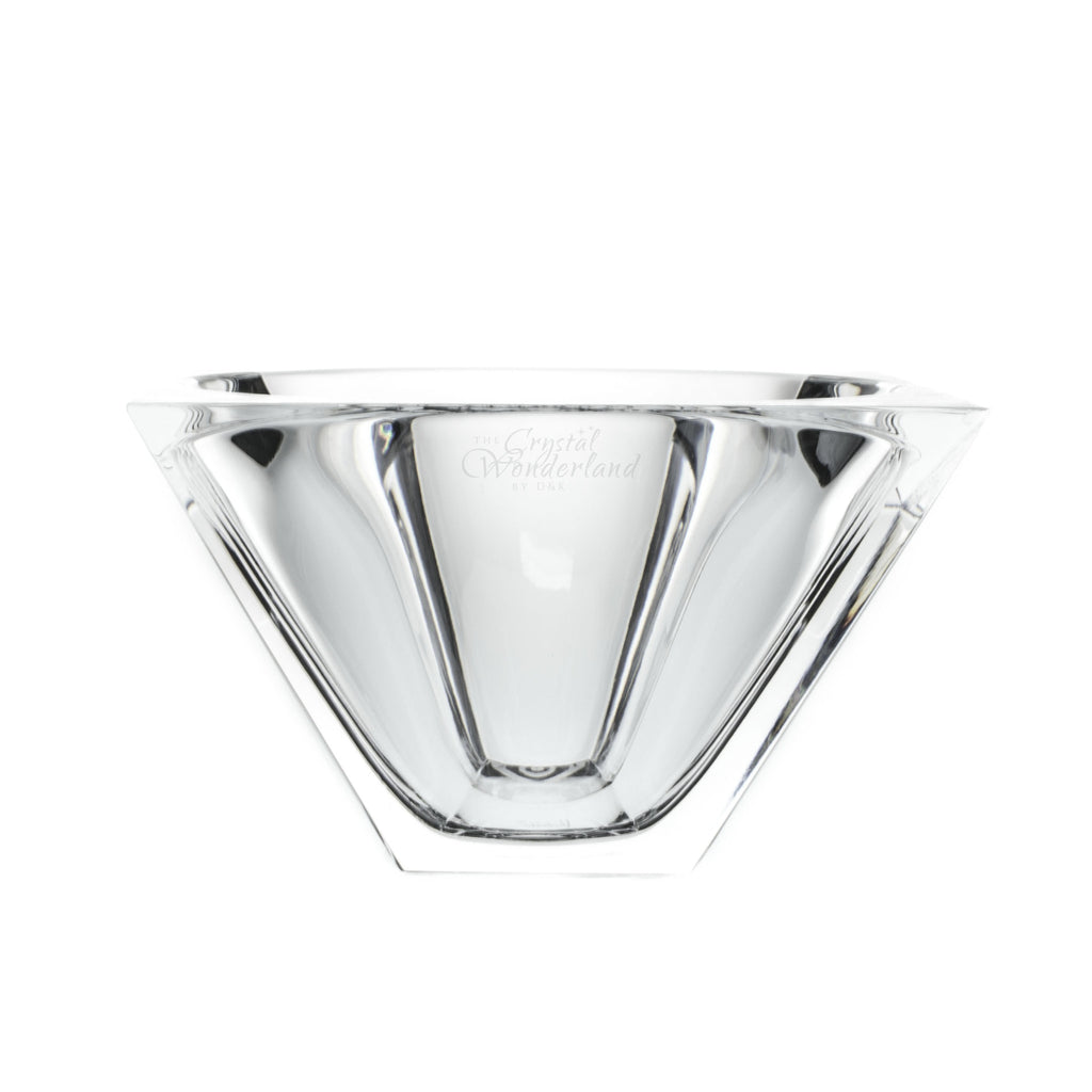 Square Crystal Fruit Bowl - The Crystal Wonderland - 1