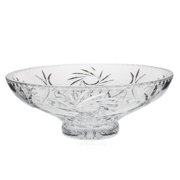Dulcinea Big Glass Bowl Footed - The Crystal Wonderland - 1