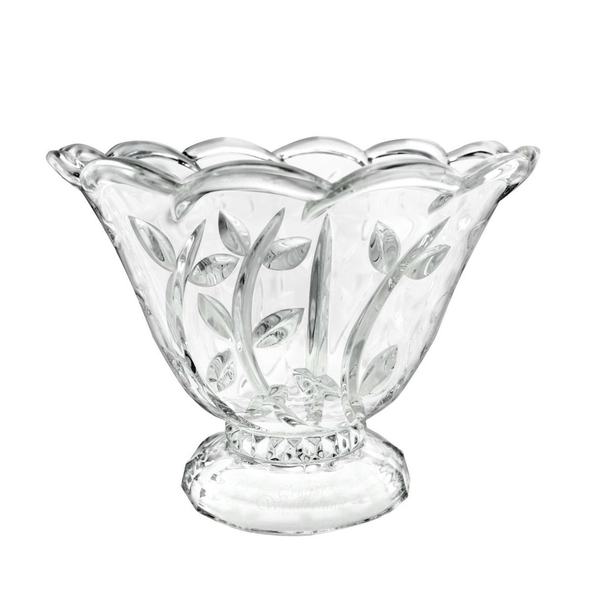 Fiona Crystal Footed Bowl - The Crystal Wonderland