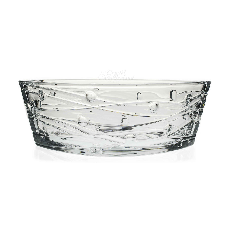 Lachina Boat Glass Bowl - The Crystal Wonderland