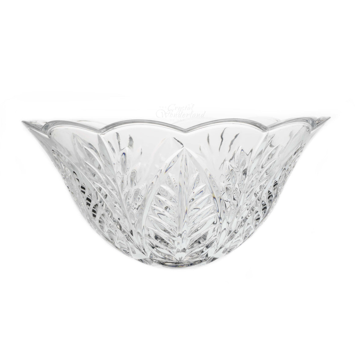 Lotus Big Glass Bowl - The Crystal Wonderland