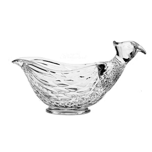 Pheasant Cut Crystal Bowl - The Crystal Wonderland