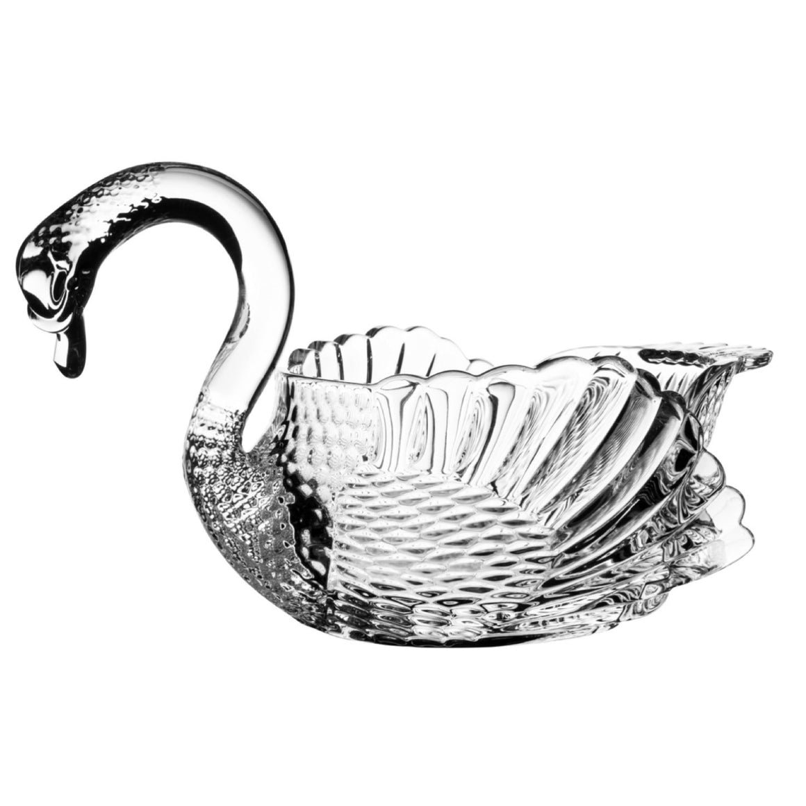 Princess Swan Crystal Bowl - The Crystal Wonderland