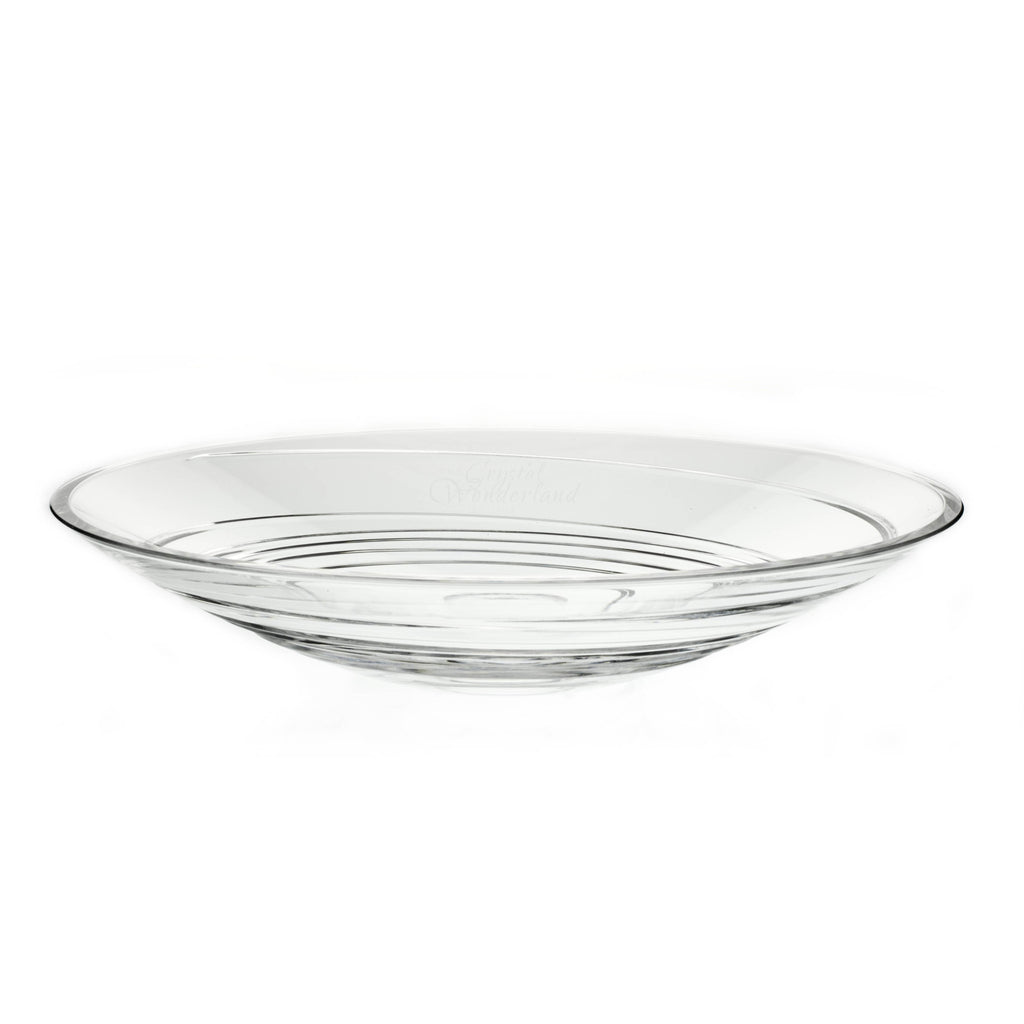 Spiral Crystal Fruit Bowl - The Crystal Wonderland