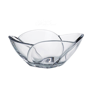 Tulip Glass Salad Bowl - The Crystal Wonderland